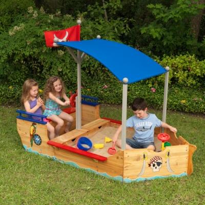 Zandbak-Piratenboot-KidKraft (00128)