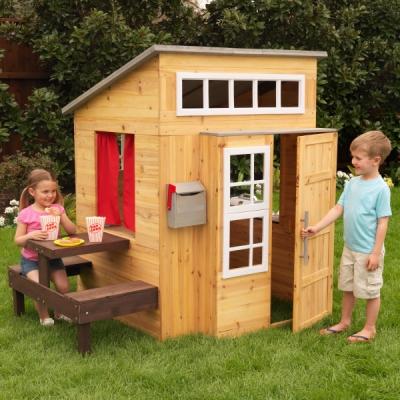 houten speelhuis - Modern - Kidkraft (00182)