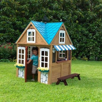 houten speelhuis - Seaside Cottage - FSC hout - KidKraft (10025)
