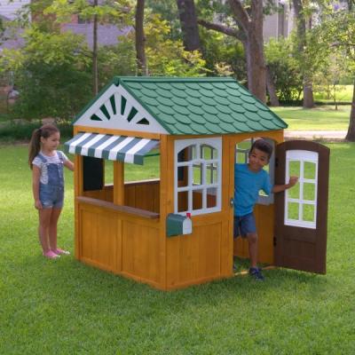 houten speelhuis - Garden View - Kidkraft (00405)