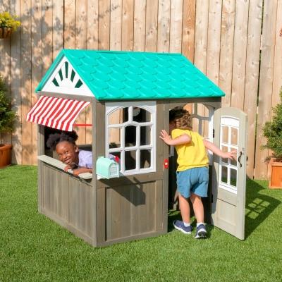 houten speelhuis - Coastal Cottage -  FSC hout - Kidkraft (00419)