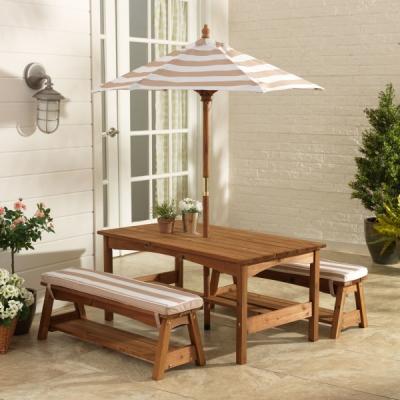 Picknicktafel-met-parasol-beige-wit-Kidkraft (00500)
