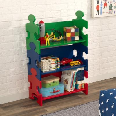 kinderboekenkast Puzzel - primaire kleuren (14400)