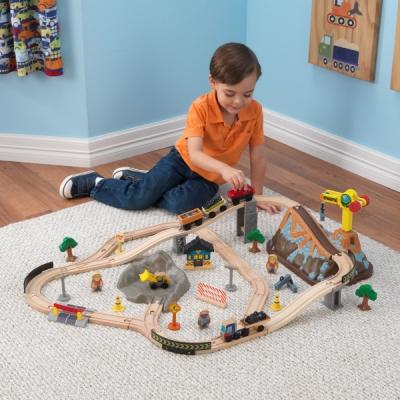 speelgoed treinbaan - Construction - 61 delig (17805)
