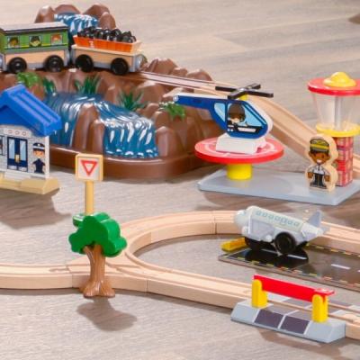 speelgoed treinbaan - Mountain - 61delig (17826)