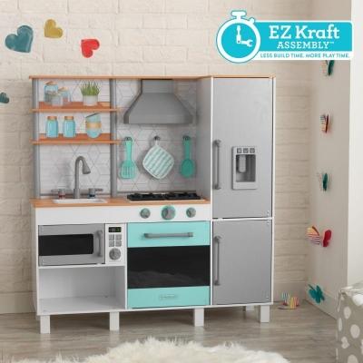 Gourmet chef speelkeuken met gemakkelijke Ez Kraft Assembly™ - KidKraft (53421)