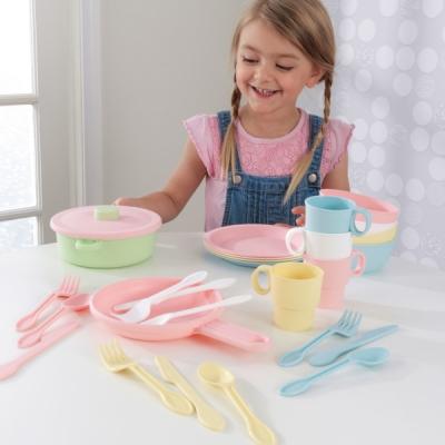 keukenservies-27-delig-pastel-Kidkraft-(63027)