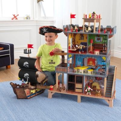 piratenfort met piratenschip - Pirate's Cove (63284)