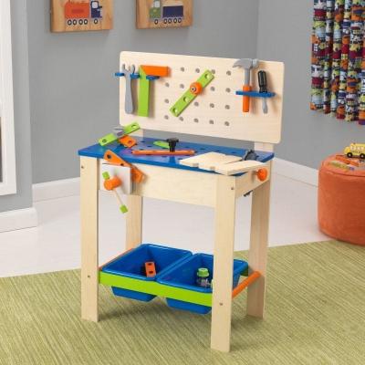 speelgoed gereedschapsbank - Deluxe (63329)