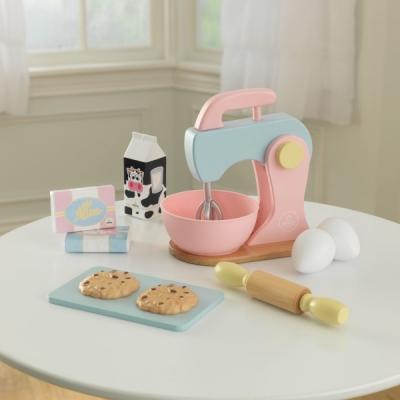 speelgoed keukenmixer met speelset - pastel - Kidkraft (63371)