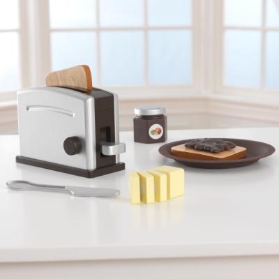 speelgoed broodrooster met speelset - espresso - Kidkraft (63373)