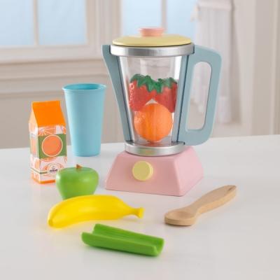 speelgoed smoothie blender met speelset - pastel - Kidkraft (63377)