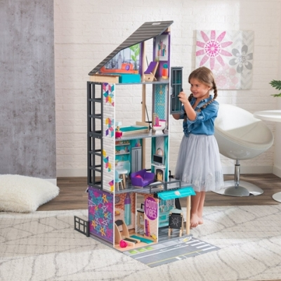 poppenhuis - Bianca City Life dollhouse  (65989)