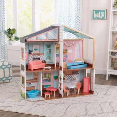 Designed by Me™: Magnetic Makeover Dollhouse - KidKraft (10154)