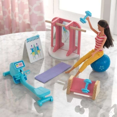 Dollhouse Accessory Pack: Home Gym - KidKraft (10156)