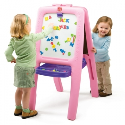 kunstenaarsezel - Easel for Two - roze (799900)