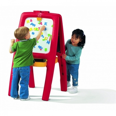 kunstenaarsezel - Easel For Two - rood (885200)