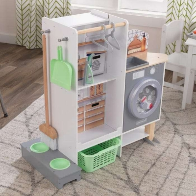 2-in-1 Kitchen and Laundry - KidKraft (10240)